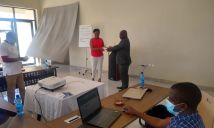 Mobile data collection tool and geoportal user training held in Malawi