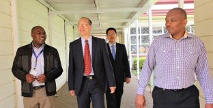Chinese Surveying & Mapping Academy Delegates visit RCMRD