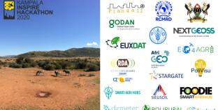 RCMRD In Kampala INSPIRE Hackathon 2020