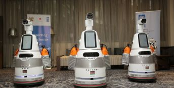 UNDP Donates Robots to Help in Kenya's Covid-19 Fight