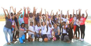 Women in Science (WiSci) Girls Steam Camp in Namibia 2018