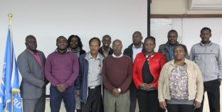 RCMRD GMES and Africa Internal Training Held