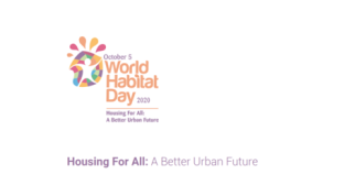World Habitat Day, 2020