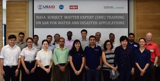 SME Training on SAR for Water and Disaster Applications