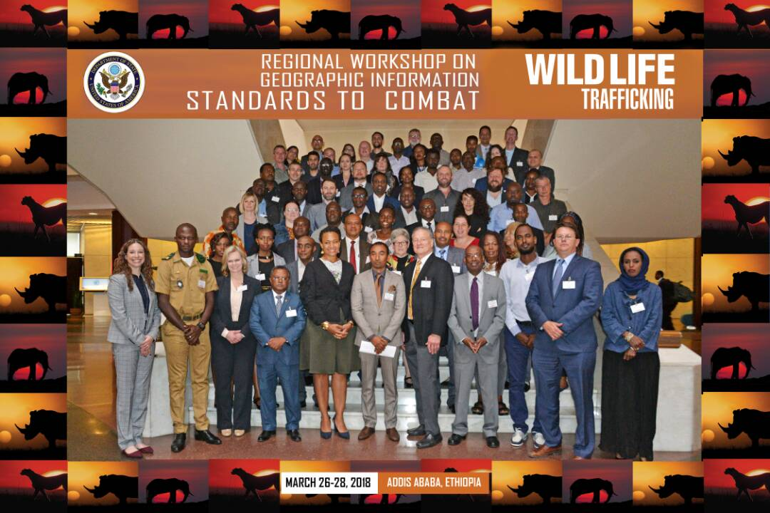 RCMRD participates in a Regional Workshop on Geographic Information Standards to Combat Wildlife Trafficking in Addis Ababa Ethiopia 4